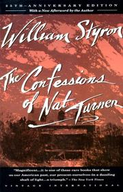 Cover art for THE CONFESSIONS OF NAT TURNER
