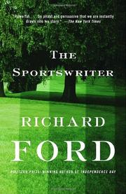 Book Cover for THE SPORTSWRITER