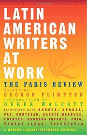 Cover art for LATIN AMERICAN WRITERS AT WORK