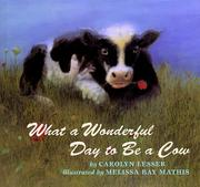 Cover art for WHAT A WONDERFUL DAY TO BE A COW