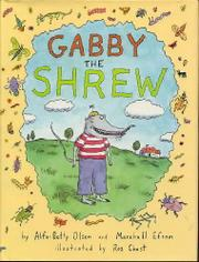 Cover art for GABBY THE SHREW