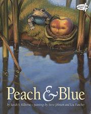 PEACH AND BLUE by Sarah S. Kilborne