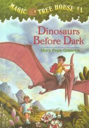 Book Cover for DINOSAURS BEFORE DARK