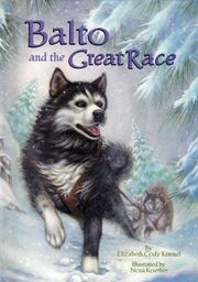 Cover art for BALTO AND THE GREAT RACE