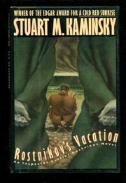 ROSTNIKOV'S VACATION by Stuart M. Kaminksy