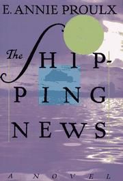 Cover art for THE SHIPPING NEWS
