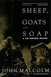 SHEEP, GOATS AND SOAP by John Malcolm