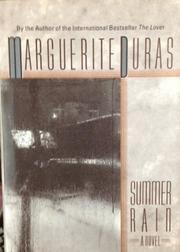 SUMMER RAIN by Marguerite Duras