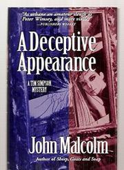 A DECEPTIVE APPEARANCE by John Malcolm