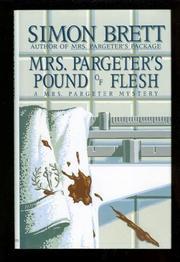 MRS. PARGETER'S POUND OF FLESH by Simon Brett