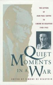 Cover art for QUIET MOMENTS IN A WAR