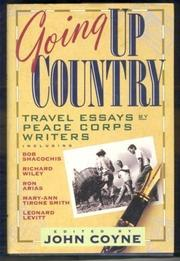 GOING UP COUNTRY by John Coyne