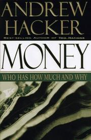 MONEY by Andrew Hacker