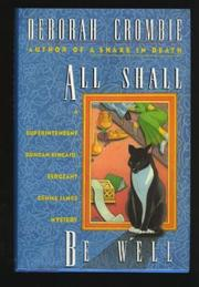 Cover art for ALL SHALL BE WELL