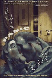 A TOUCH OF PANIC by L.R. Wright