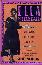 ELLA FITZGERALD by Stuart Nicholson