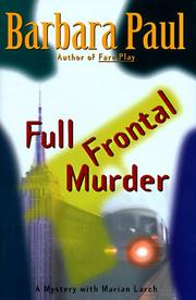 FULL FRONTAL MURDER by Barbara Paul