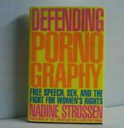 Cover art for DEFENDING PORNOGRAPHY
