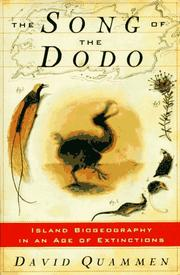 Book Cover for THE SONG OF THE DODO