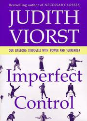 IMPERFECT CONTROL by Judith Viorst