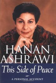 THIS SIDE OF PEACE by Hanan Ashrawi