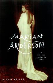 MARIAN ANDERSON by Allan Keiler