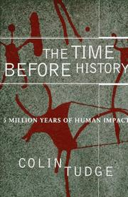 Book Cover for THE TIME BEFORE HISTORY