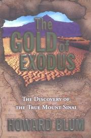 Cover art for THE GOLD OF EXODUS