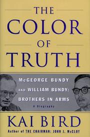 Cover art for THE COLOR OF TRUTH