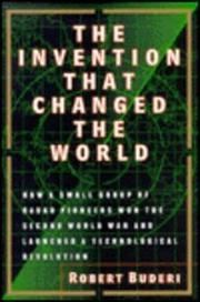 Cover art for THE INVENTION THAT CHANGED THE WORLD