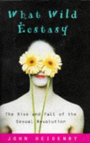 Cover art for WHAT WILD ECSTASY