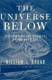 Cover art for THE UNIVERSE BELOW