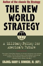 Cover art for THE NEW WORLD STRATEGY