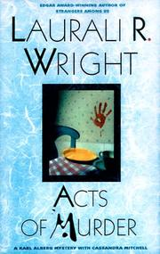 ACTS OF MURDER by Laurali R. Wright