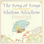 THE SONG OF SONGS by Sholom Aleichem