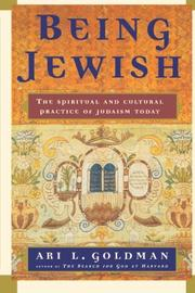 Book Cover for BEING JEWISH