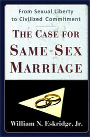 Cover art for THE CASE FOR SAME-SEX MARRIAGE