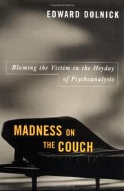 Book Cover for MADNESS ON THE COUCH