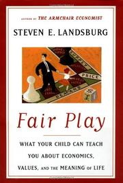 FAIR PLAY by Steven Landsburg