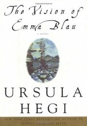 Cover art for THE VISION OF EMMA BLAU
