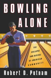Book Cover for BOWLING ALONE