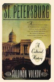 ST. PETERSBURG: A Cultural History by Solomon Volkov