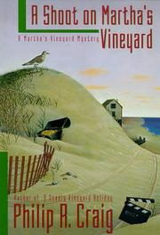 A SHOOT ON MARTHA'S VINEYARD by Philip R. Craig