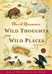 Book Cover for WILD THOUGHTS FROM WILD PLACES