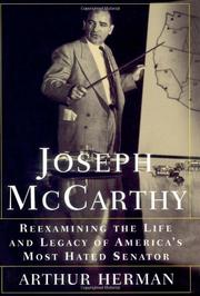JOSEPH McCARTHY by Arthur Herman