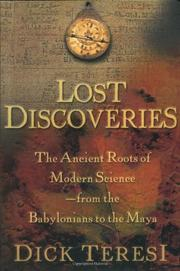 Cover art for LOST DISCOVERIES