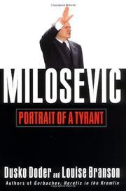 MILOSEVIC by Dusko Doder