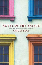 Cover art for HOTEL OF THE SAINTS