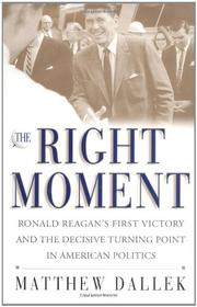 Cover art for THE RIGHT MOMENT