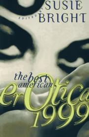 THE BEST AMERICAN EROTICA 1999 by Susie Bright